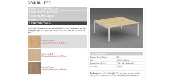 BOX15 BPF Desk Configurator