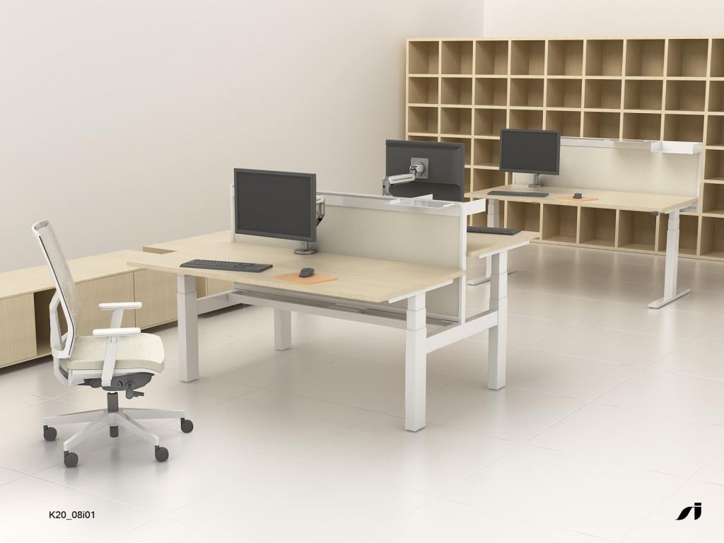 Height Adjustable Sit-Stand Desk Frames