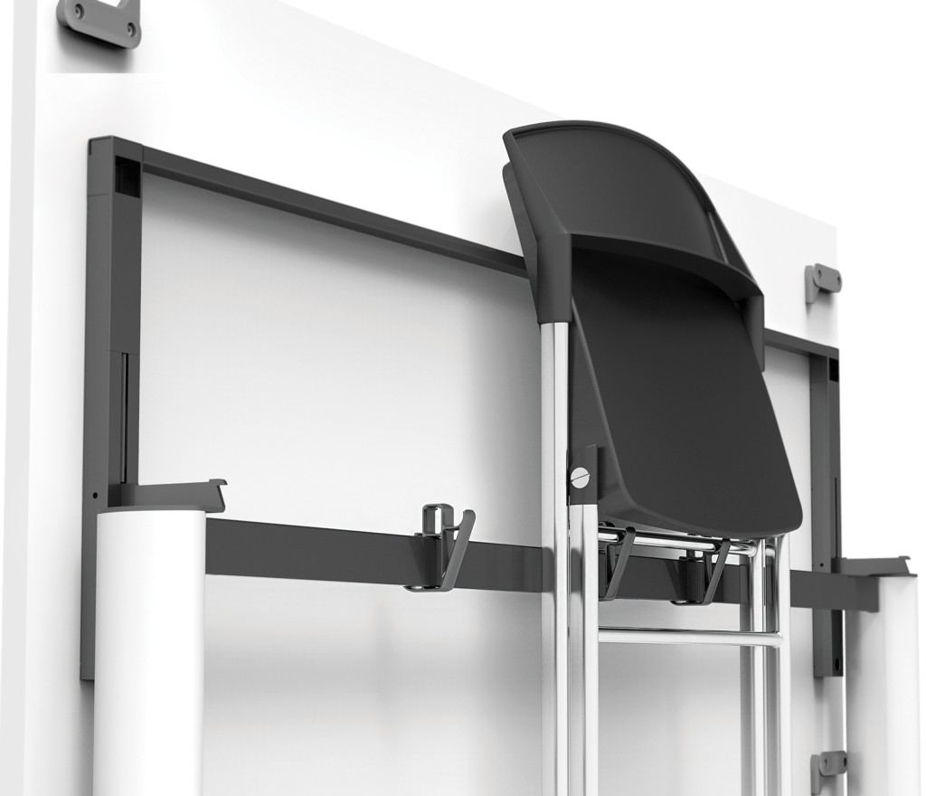 Folding Chair for Tilt top table