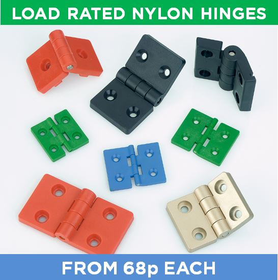 Load Rated Nylon Hinges