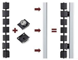 KUBA Magnets for Height Adjustable Desks