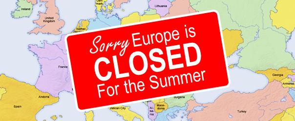 Summer Shutdown
