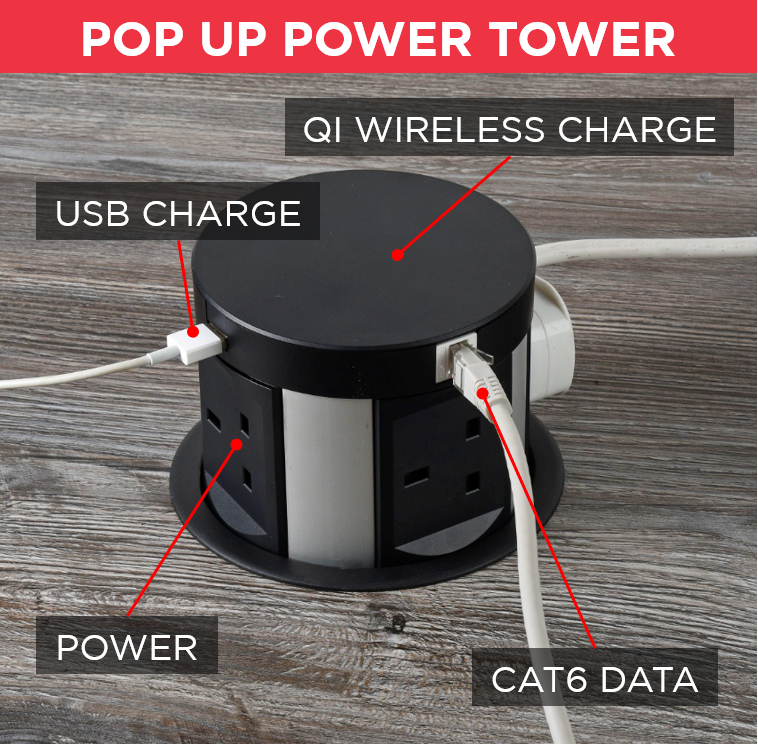 Pop Up Maxi Power Tower