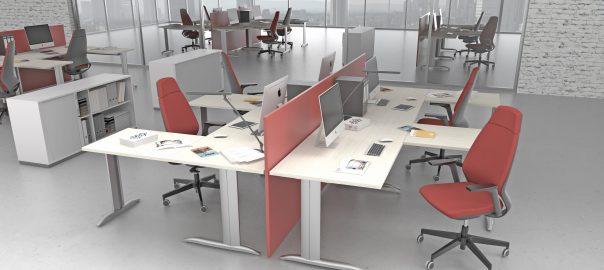 K2 Cantilever Desk Frame