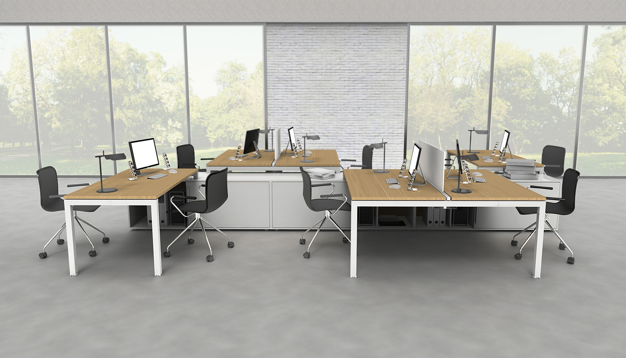 K3 Modular Bench Desks