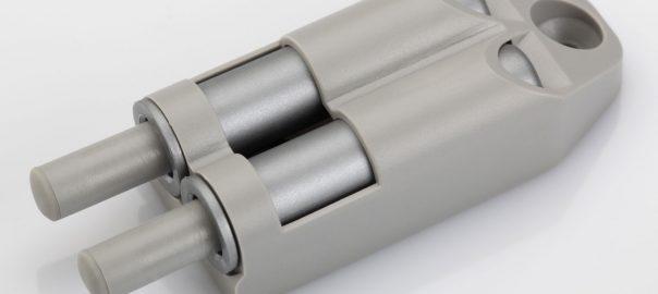 Soft Close Buffer Adapter Set_Double_Grey
