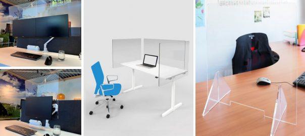 Acrylic Hygiene Desk Screens