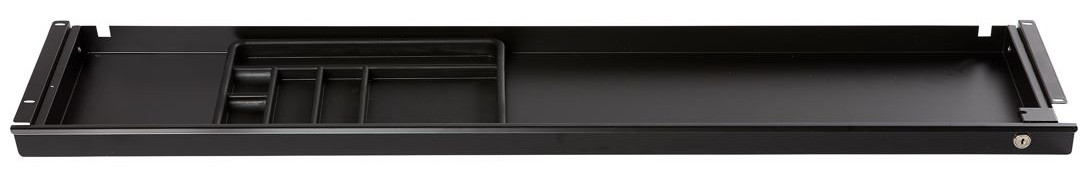 Lockable Under-Desk Pen Drawer | 1200 x 250 x 45mm