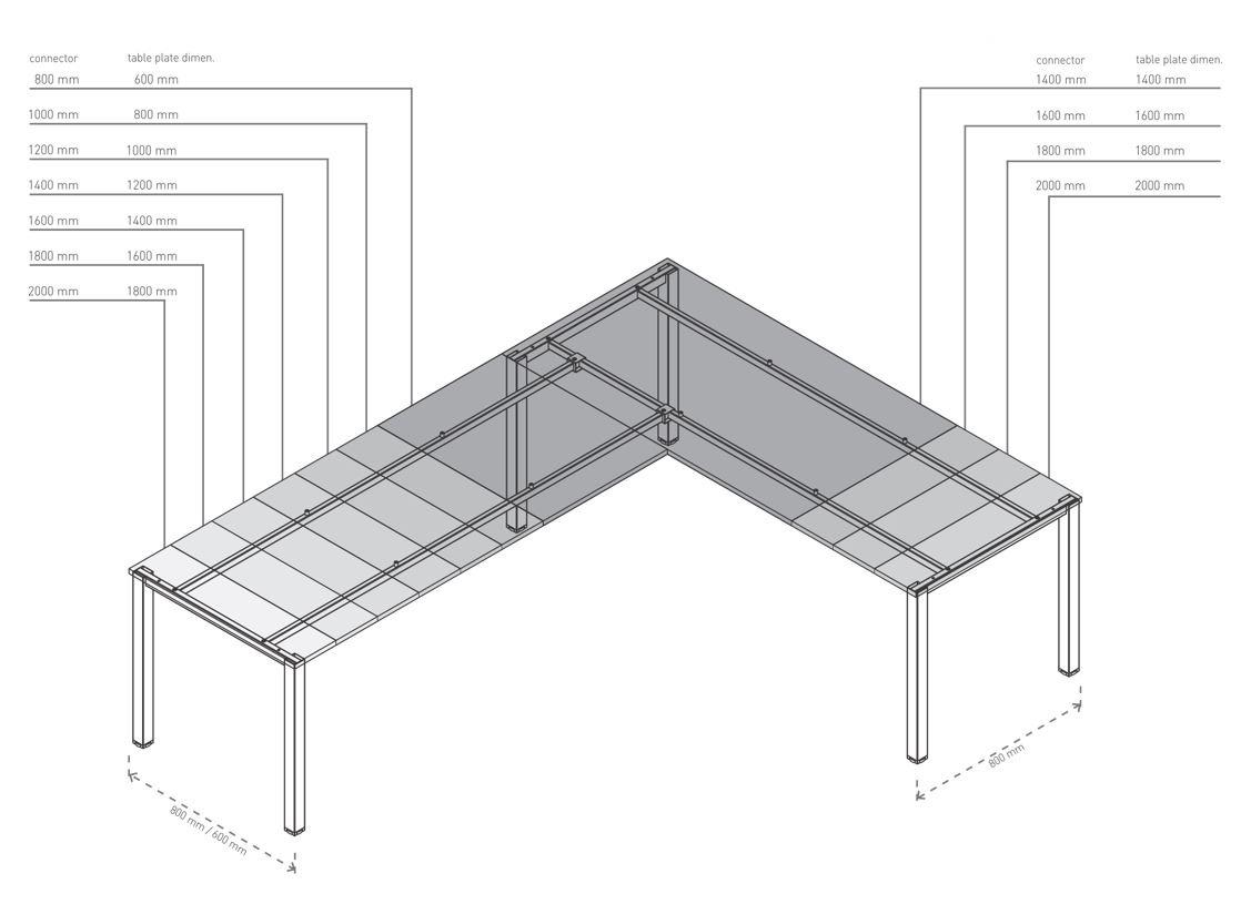 HIDE Modular Desking
