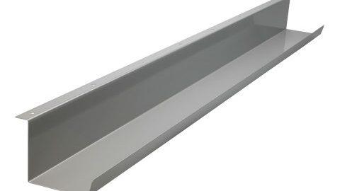 SUN Under Desk Cable Tray. Silver